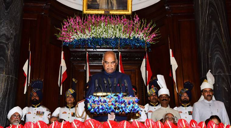Ram Nath Kovind, President Ram Nath Kovind, Kovind, president election, 14th President of india, New President of india, Indian Express News