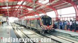 Lucknow Metro comes to a halt on the first day