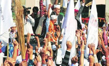 Arvind Kejriwal's Aam Aadmi Party: The spoiler among themasses