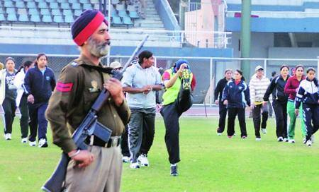 Border is just a wall,says Pakistani women'steam
