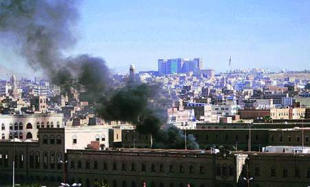 At least 20 dead as suicide bomber attacks Yemen's DefenceMinistry