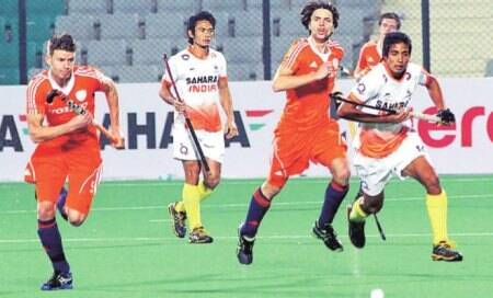 India lose game of two halves