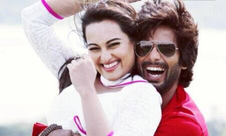 Shahid,Sonakshi overwhelmed with response to 'R… Rajkumar'