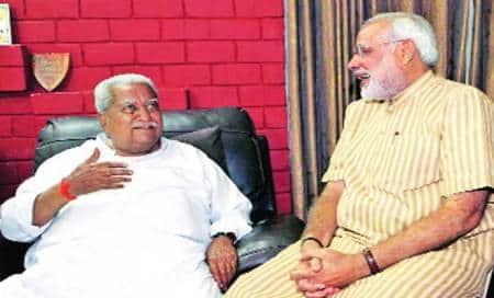 Keshubhai may return toBJP