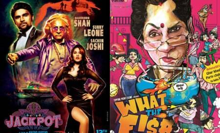 Friday releases: Sunny Leone's 'Jackpot',Dimple Kapadia's 'What TheFish'