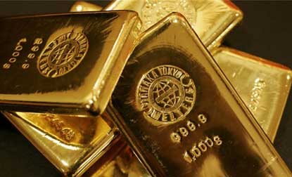 Gold price futures down 0.19 pc to Rs 28,509 on globalcues