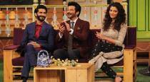 Mirzya cast promotes film on The Kapil Sharma show, papa Anil Kapoor has most fun