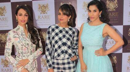 Malaika, Sophie pick summer colours, Amrita in black and white