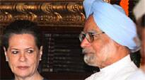 The statements were made by Manmohan Singh and Sonia Gandhi at a key meeting of the Members of Parliament of the Congress party.