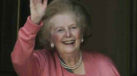 "'The lips of Marilyn Monroe and the eyes of Caligula' was a neat summing up of the ""power woman"" presented by Prime Minister Margaret Thatcher."