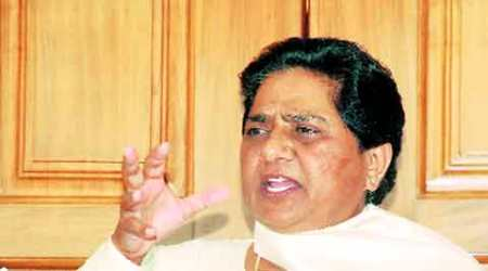 Modi ignoring farmers' woes, is overlooking rajdharma: Mayawati