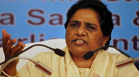 Mayawati claimed that minority community members were apprehensive about Modi.