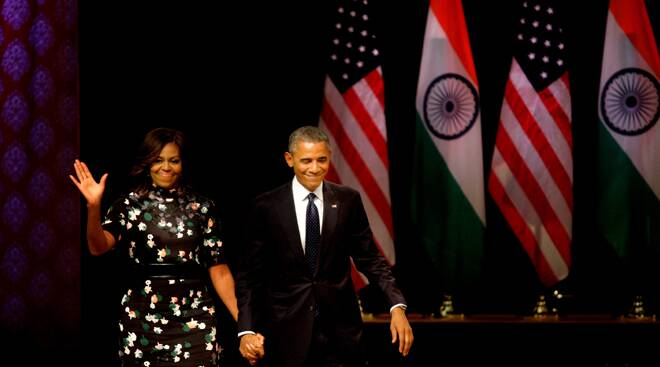 Barack Obama's top moments from his speech at Siri Fort town hall