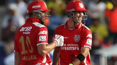 IPL 7 PHOTOS: Miller, Maxwell help KXIP chase 206 against CSK