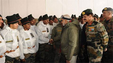 India stands shoulder-to-shoulder with you: Modi tells soldiers at Siachen