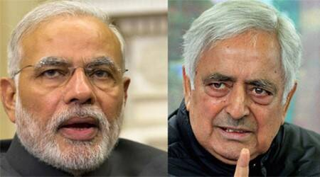 Narendra Modi, Mufti Mohammad Sayeed, jammu and kashmir, J&K CM, Narendra Modi J&K CM, PDP, BJP, Ram Madhav, Modi Kashmir visit, india news