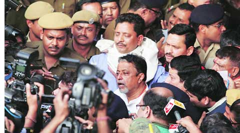 Mukul Roy addresses media 6 times in 2 hrs after CBI questioning