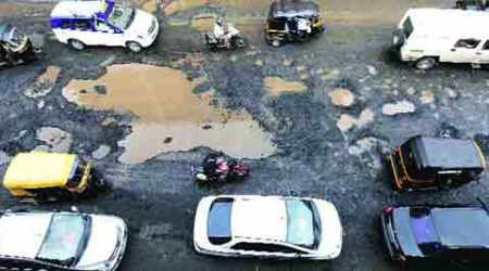 BMC, Marve Reservoir Road, Kharak Pada road, mumbai road, maharashtra news