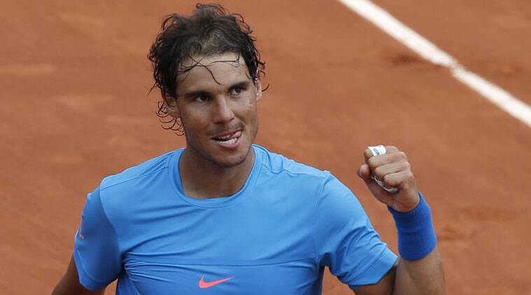Nadal storms into third round; Georges sends Wozniacki packing
