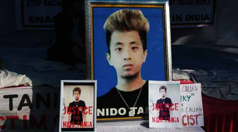 Nido Taniam lost his life due to a racial attack in the capital.