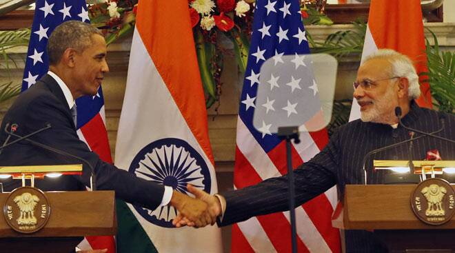 Obama in Delhi: The story in photos