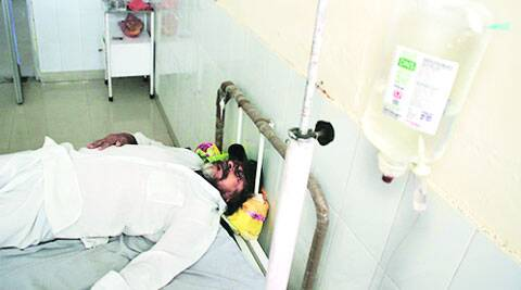 50 new patients at health camp, water of Punjab Mata Nagar unfit for drinking