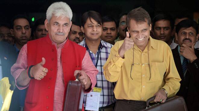 Railways Minister Suresh Prabhu presents Rail Budget