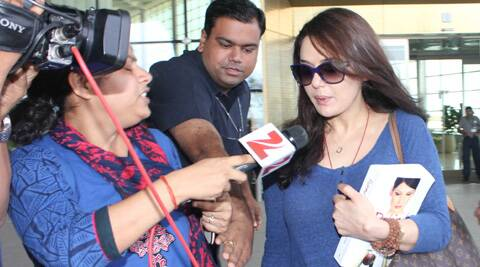 Preity Zinta had left India soon after filing an FIR against Ness Wadia on June 12.