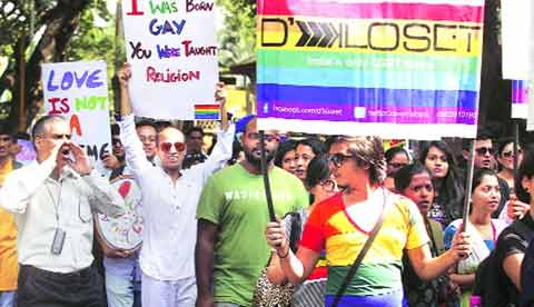 lgbt protest m