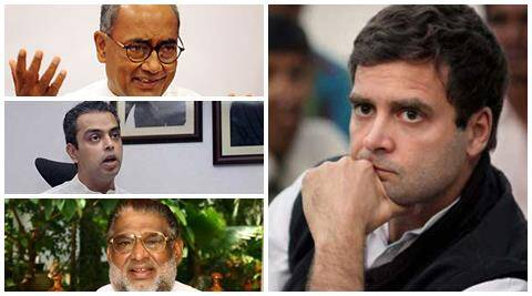 Against the backdrop of poll debacle, dissenting voices against party Vice-President Rahul Gandhi are growing louder.