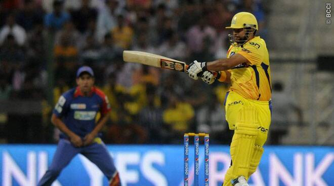 Raina departs after scoring valiant half-century