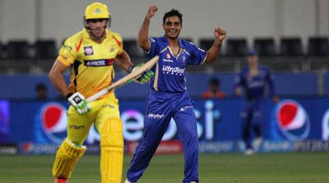 IPL 7 Live Cricket Score, CSK vs RR: CSK struggle to 140/6 against RR
