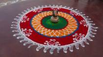 Happy Diwali Rangoli 2016: Designs, Images, Pictures, Photos