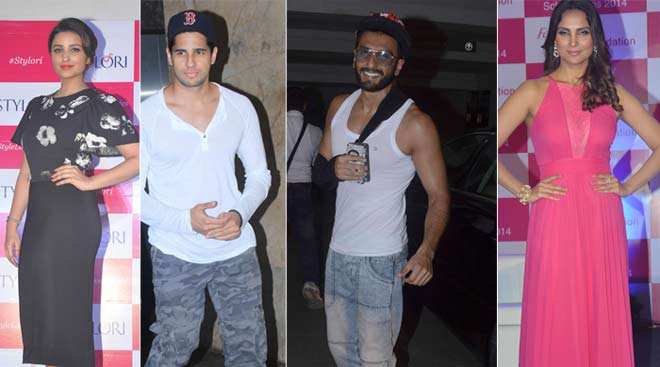 Girls Parineeti Chopra, Lara Dutta go glam; boys Ranveer Singh, Sidharth Malhotra are casual