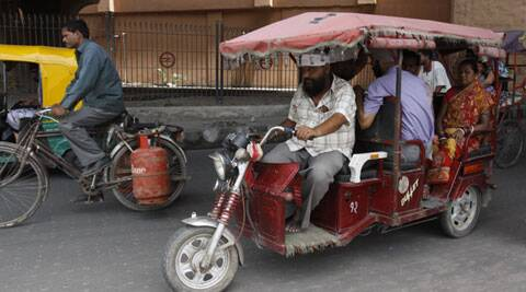 Government allows e-rickshaws to ply on roads