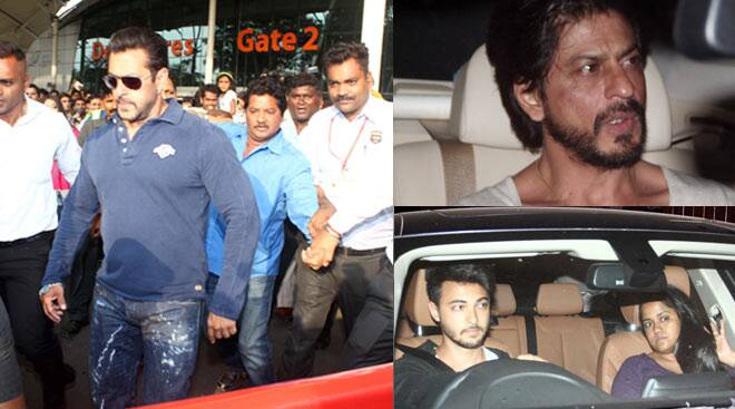 Shah Rukh Khan visits Salman Khan a day before hit-and-run verdict