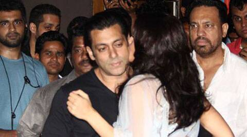 "A source close to the team said: ""Salman shares an intimate moment in the film with his love interest. It is very rare that you see Salman do this on screen."""
