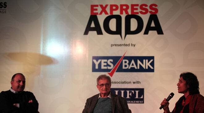 Express Adda: Every reason to oppose any kind of censorship, says Amartya Sen