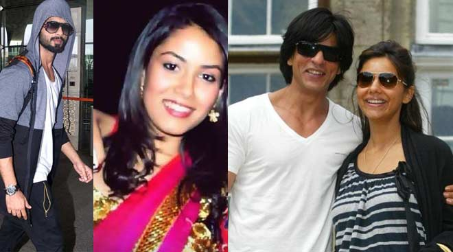 Shahid, SRK: Celebrities who found love outside Bollywood
