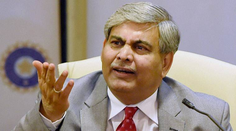 Mumbai: BCCI President Shashank Manohar interacts with media after the AGM at the BCCI headquarters in Mumbai on Monday. PTI Photo by Shashank Parade(PTI11_9_2015_000095A)