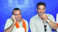 Sunil Shetty lands in Ahmedabad to back his friend Paresh Rawal