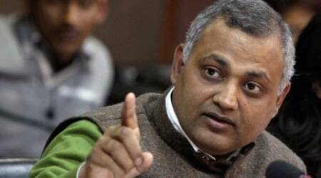 somnath bharti, somnath, somnath bharti wife, aap, aap mla, delhi commission for women, dcw, domestic violence, aap, aam aadmi party
