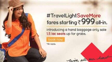 Now, Spicejet makes sale offer priced at Rs 999; ticket 'cheaper than Second AC train'