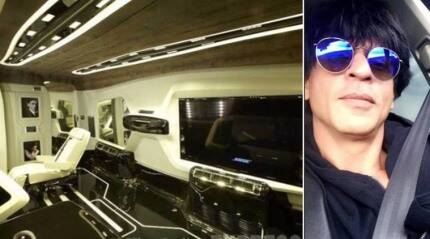 Shah Rukh Khan gets a new vanity van worth Rs 4 cr designed by DC