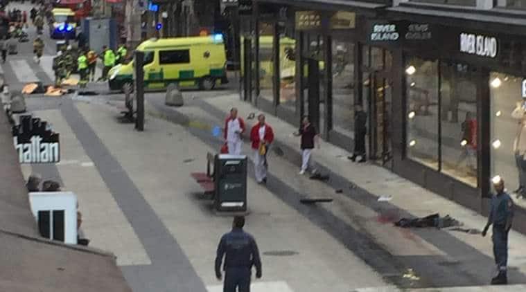 Stockholm, Stockholm attack, sweden terror attack, stockholm truck attack, sweden truck attack, Stockholm terrorist attack, stockholm terror attack, truck terror attack, World news, Indian express news