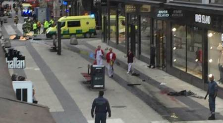 Stockholm attack highlights: Police release photo of man wanted in truck crash, begin 'terrorprobe'