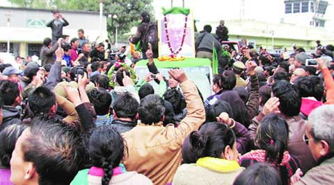 Subash Ghisingh's body reaches Darjeeling, cremation Sunday
