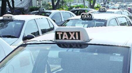 Nine web-based taxis impounded, 23challaned