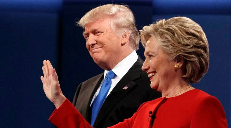 us elections 2016, us presidential debate, us debate, hillary clinton donald trump debate, hillary clinton vs donald trump, us elections update, world news, indian express,