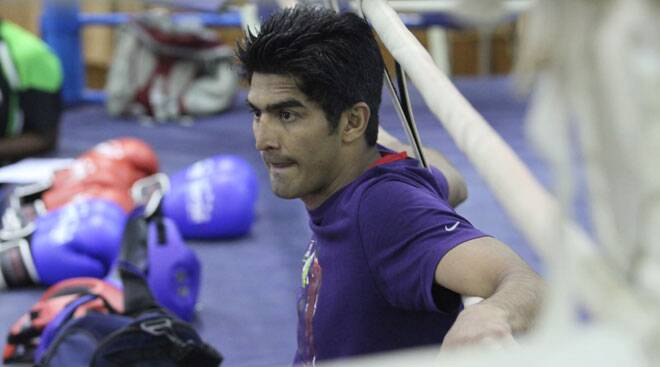 We are prepared for everything: Vijender Singh